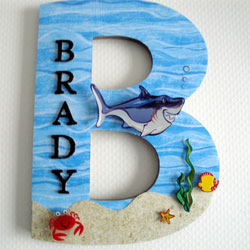 Custom Under the Sea 3D Initial