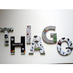 Go for the Goal! Soccer 3D Wall Art