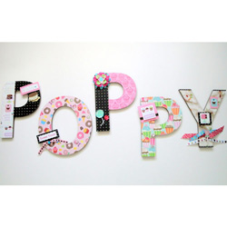 Delicious Sweets Wall Letters
