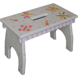 Bright Butterfly Step Stool