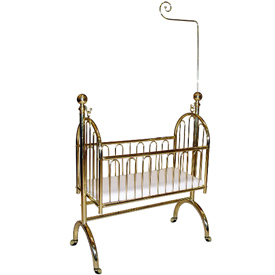 Exquisite Brass Cradle
