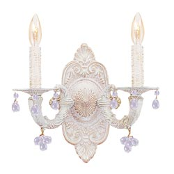 Sutton Murano Crystal Wall Sconce