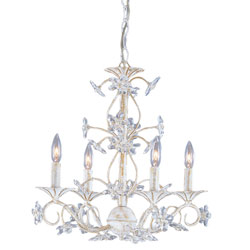 Crystal Floret Chandelier