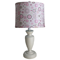 Cindy Drum Shade Childtop Urn Lamp