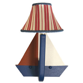 Sailboat Wall Sconce