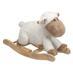 Plush Sheep Rocker