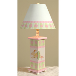 Floral Bunny Lamp