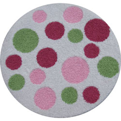 Custom Polka Dot Rug