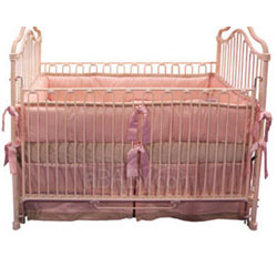 Pink Paradise Crib Bedding Set