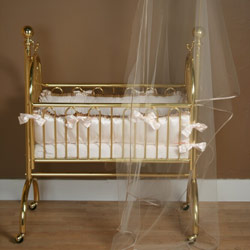 Ivory Dream Cradle Bedding