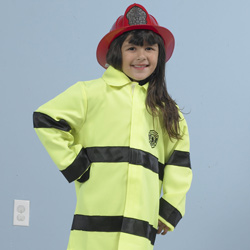 Fire Fighter Coat and Hat