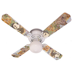Baby Safari Ceiling Fan