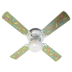 Colorful Crayons Ceiling Fan