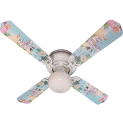 Princess Castle Ceiling Fan