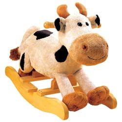 Carlton Cow Rocker