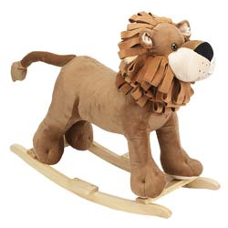 Plush Lion Rocker