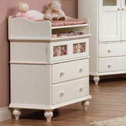 Chelsea Three Drawer Dresser/Changer
