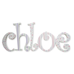 Chloe Hanging Letters