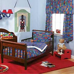 Choo Choo Train Toddler Bedding