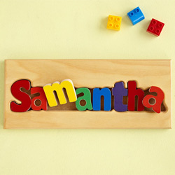 Puzzled Name Board
