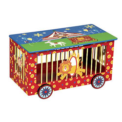 <font color=red>NEW!</font color=red> Circus Toy Box