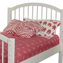 Oxygen Pink Twin/Full Bedding