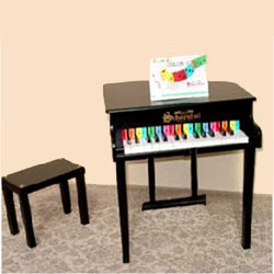 Baby Grand Piano with Matching Bench