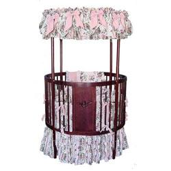 Classic Round Canopy Crib  sc 1 st  aBaby.com & Round Canopy Crib
