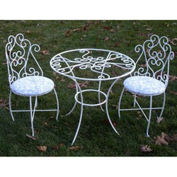 Toddler Glass Table and Chairs Set