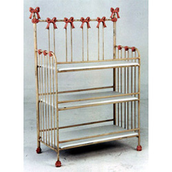Princess Bow Iron Changing Table
