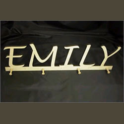 Personalized Wall Coat Rack