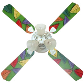 Jungle Colors Ceiling Fan