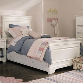 Four Seasons Louis Philippe Panel Bed