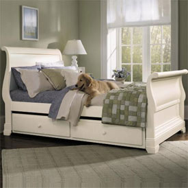 Four Seasons Sleigh Bed
