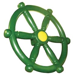 Green Ship Wheel