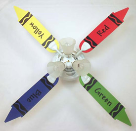 Crayon Ceiling Fan