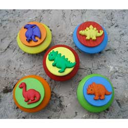 Dinosaur Wooden Furniture Knob
