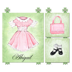 Baby Doll Wall Art Collection