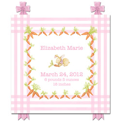 Snuggle Bunny Name Plaque