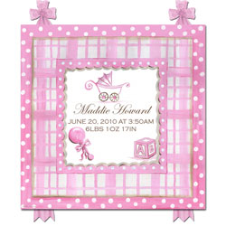 It's A Girl/Boy Name and Birth Plaque