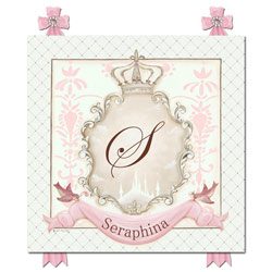La Belle Princesse Name Plaque