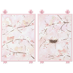 Springtime Birdies Wall Art Collection