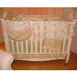 Fairytale Toille Crib Bedding Set
