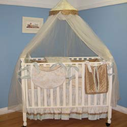 Lil' Boy Blue Crib Bedding Set