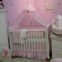 Wildflower Blush Crib Bedding Set
