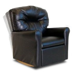 Contemporary Kid's Rocker Recliner