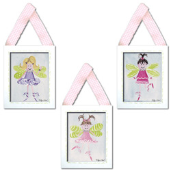 Flower Fairy Wall Hangings