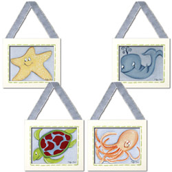 Sea Creature Wall Hangings