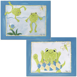 Frog Friends Wall Art