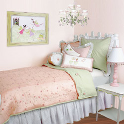 Princess Silk Twin Bedding Set